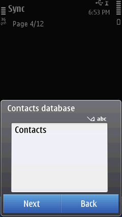 Fill: Contacts