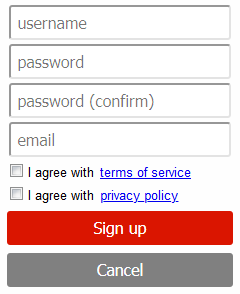 Fill in your Username and Password, press Synchronize