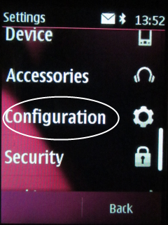 Choose Configuration